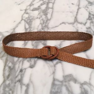 JCREW Woven Leather Belt